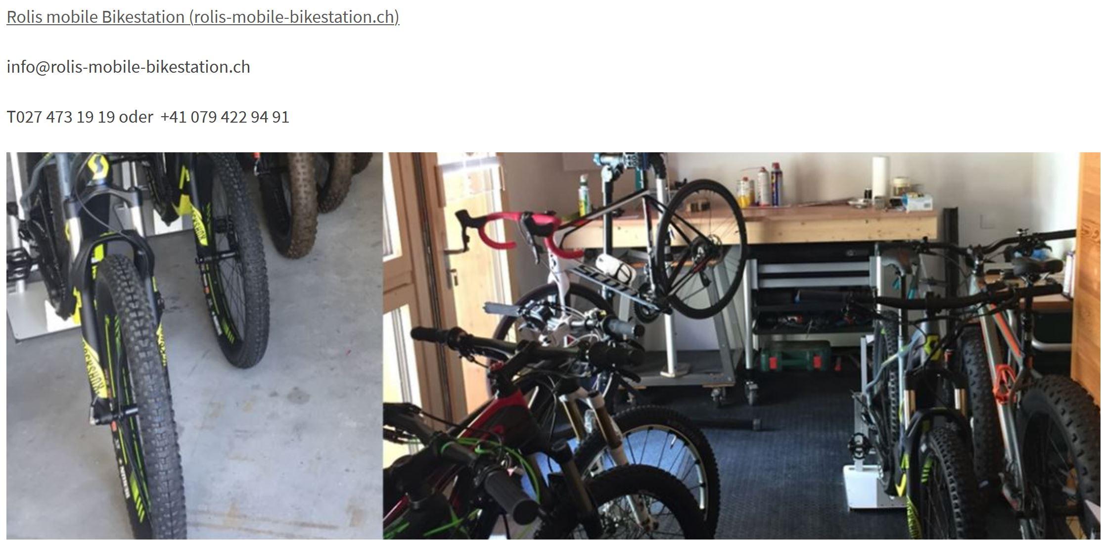 bike miete wallis