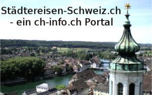 Städtereisen Schweiz mit bike